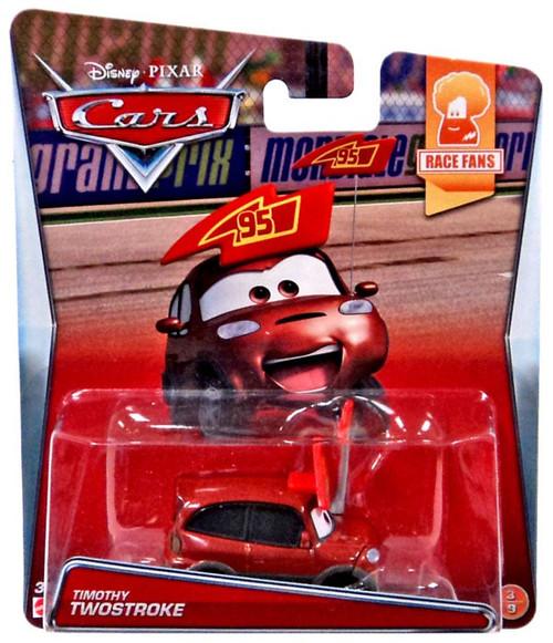 All Cars 1 Race Car Toys : Disney cars race fans timothy twostroke diecast car