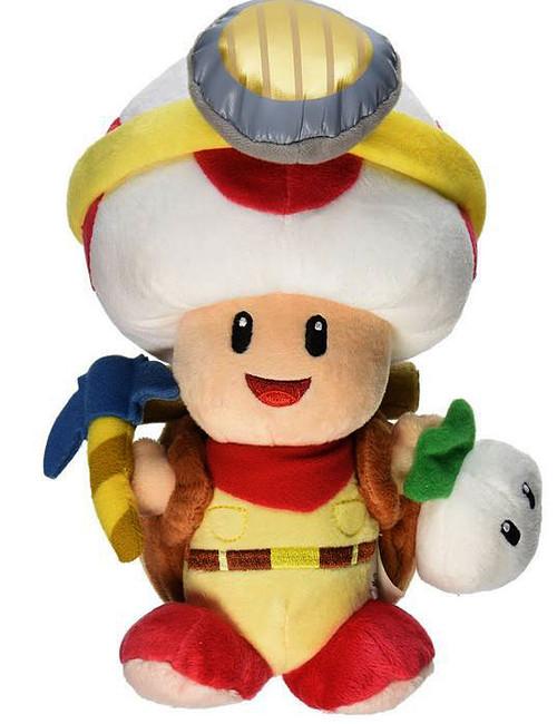 San-Ei Super Mario Galaxy Captain Toad 9-Inch Plush