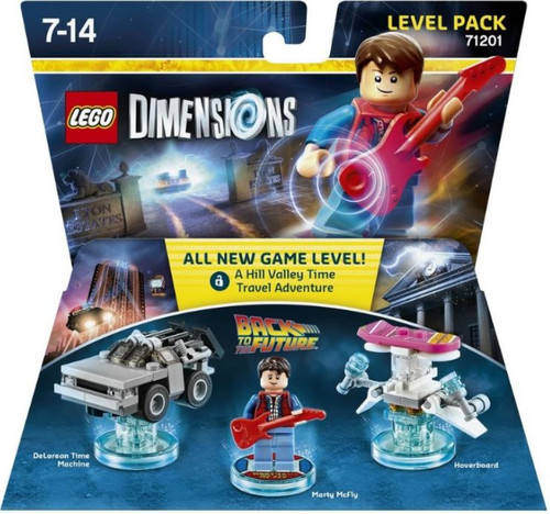 LEGO Dimensions Back to the Future Delorean, Marty McFly ...