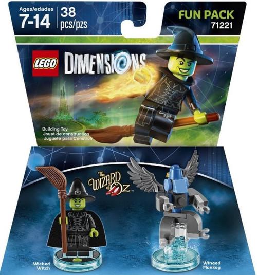 LEGO Dimensions Wizard of OZ Wicked Witch & Winged Monkey...