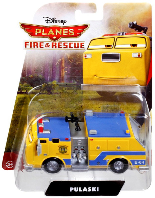 Mattel Disney Planes Fire & Rescue Pulaski Diecast Vehicle