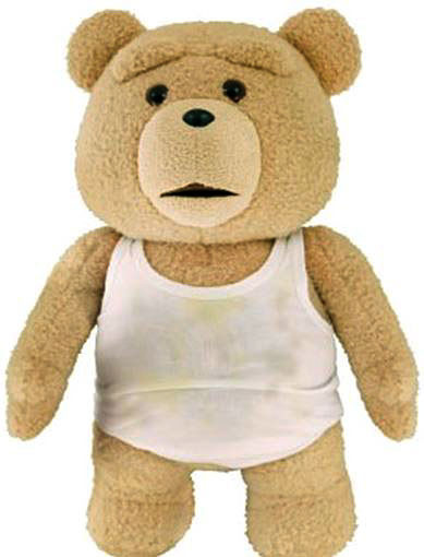 Toys For Ted : Ted in tank top talking plush explicit