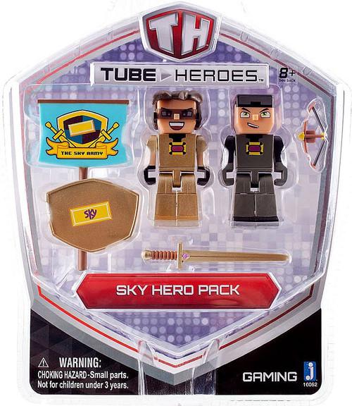 Jazwares Tube Heroes Sky Hero Pack Action Figure 2-Pack