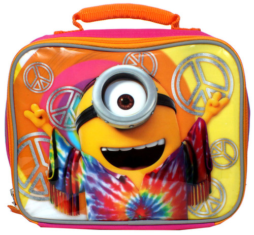 Despicable Me Minions Movie Hippie Minion Lunch Bag