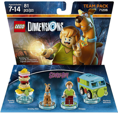Lego Dimensions Scooby-Doo Scooby Snack, Scooby, Shaggy &...