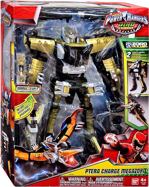 Power rangers dino charge zord builder ptera charge megazord action figure 42097 bandai toywiz - Sonic power rangers dino charge ...