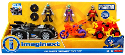 Fisher Price Imaginext DC Super Friends Exclusive 3-Inch ...