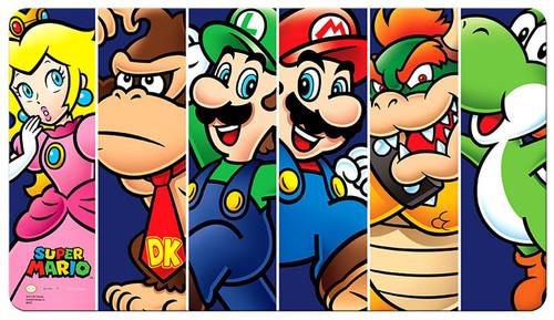 Ultra Pro Super Mario Card Supplies Mario & Friends Play Mat