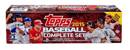 MLB 2015 Topps Baseball Cards Complete Set [Hobby Edition]