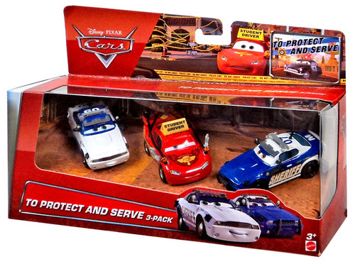 Cars 1 And 2 Toys : Disney cars multi packs to protect and serve pack