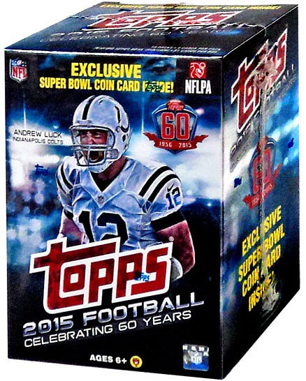 NFL 2015 Topps Football Cards 2015 Football Cards Trading Card Blaster Box  ToyWiz