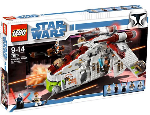 Does Ups Ship On Saturday >> LEGO Star Wars The Clone Wars Republic Attack Gunship ...