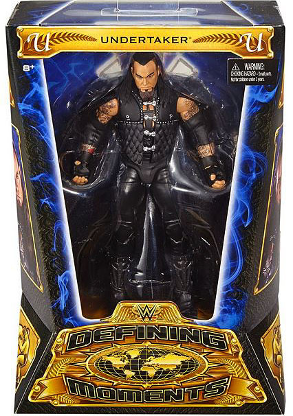 Mattel WWE Wrestling Defining Moments Undertaker Action F...