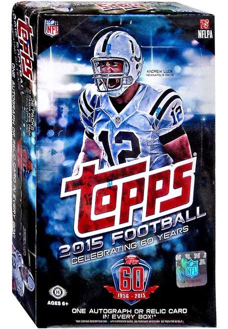 NFL 2015 Topps Football Cards 2015 Football Cards Trading Card Hobby Box  ToyWiz