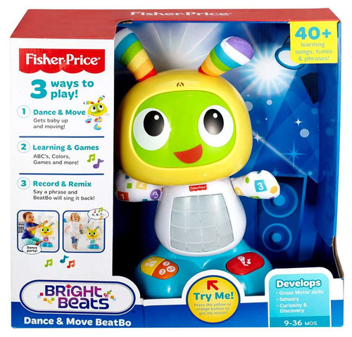 Fisher Price Bright Beats Dance & Move BeatBo 3-Inch
