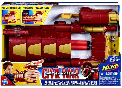 Hasbro Captain America Civil War Slide Blast Armor Rolepl...