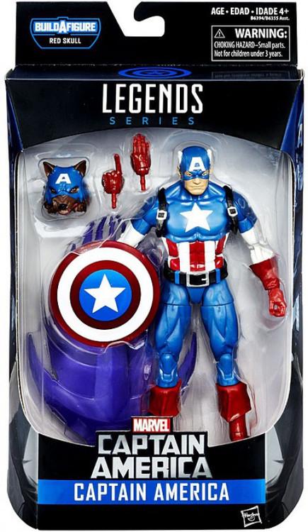 Hasbro Captain America Civil War Marvel Legends Red Skull...