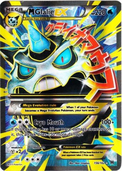 Pokemon X & Y BREAKthrough Ultra Rare Holo Full Art Mega ...