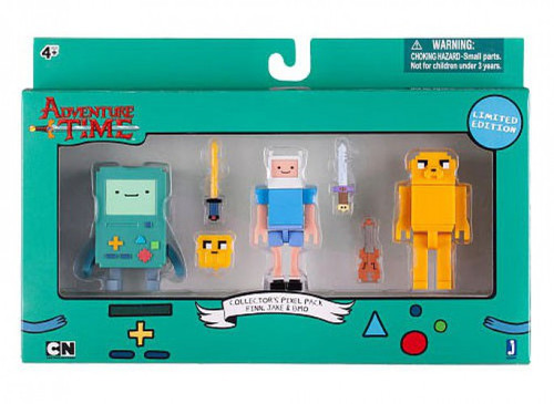 Adventure Time Collectors Pixel Pack Figure Pack Finn ...