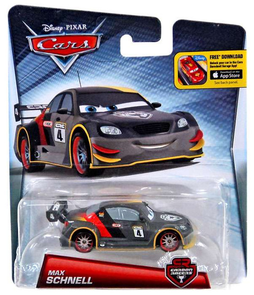 Disney Cars Carbon Racers Max Schnell 155 Diecast Car