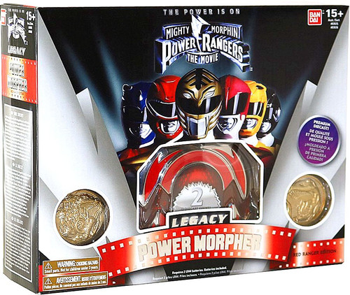 Bandai Power Rangers The Movie Legacy Red Ranger Morpher ...