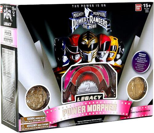 Bandai Power Rangers The Movie Legacy Pink Ranger Morpher...