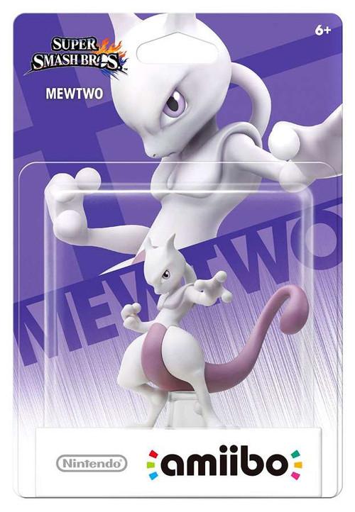 Nintendo Super Smash Bros Amiibo Mewtwo Mini Figure