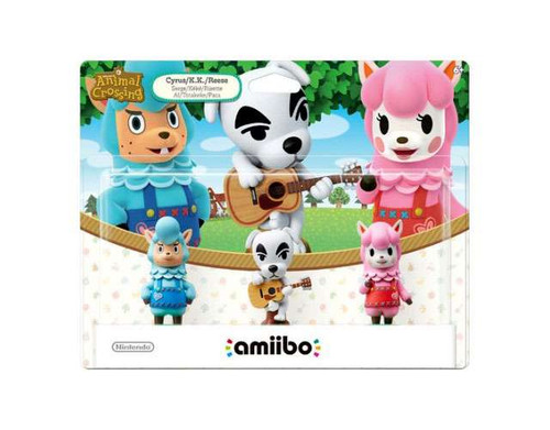 Nintendo Animal Crossing Amiibo Cyrus, K.K. & Reese Mini ...