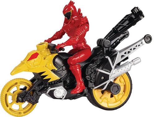 Bandai Power Rangers Dino Charge Dino Stunt Bike & T-Rex ...