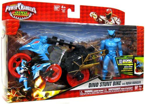 Bandai Power Rangers Dino Charge Dino Stunt Bike & Aqua R...