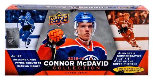 Upper Deck NHL 2015-16 Connor McDavid Collection Blaster Box
