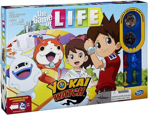 Yo kai watch yo kai watch game of life board game hasbro for Decoration yo kai watch
