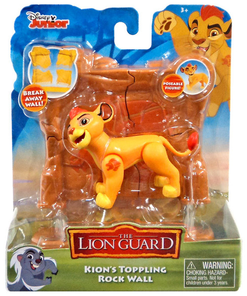 Disney The Lion Guard Kions Toppling Rock Wall Figure Pack