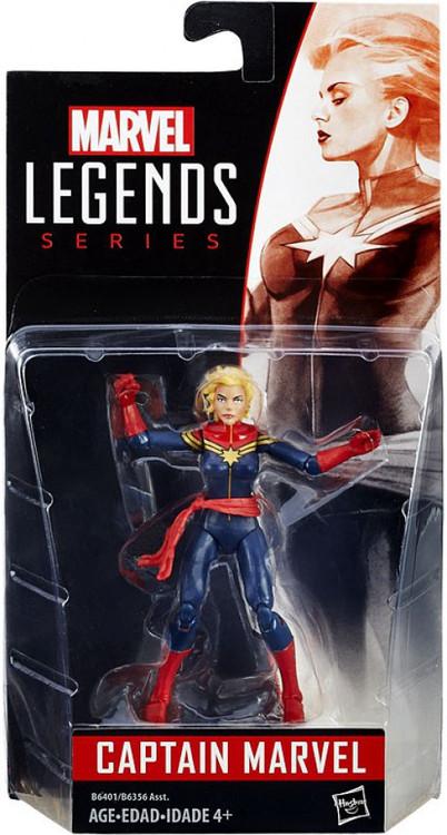 marvel marvel legends 2016 series 1 captain marvel action figure hasbro toys toywiz. Black Bedroom Furniture Sets. Home Design Ideas