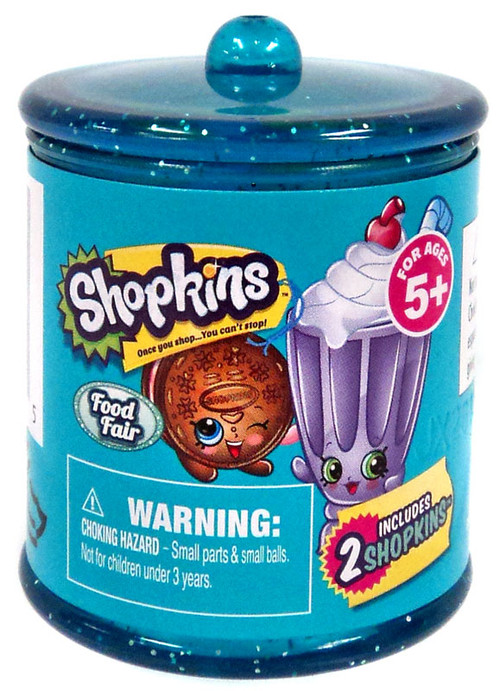 Shopkins Season 4 Food Fair Exclusive Mini Figure 2-Pack