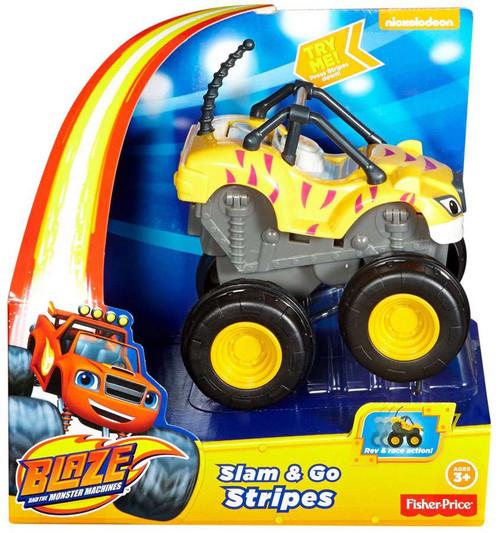 Fisher Price Blaze & the Monster Machines Slam & Go Stripes