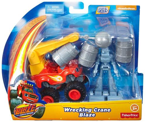 Fisher Price Blaze & the Monster Machines Wrecking Crane ...