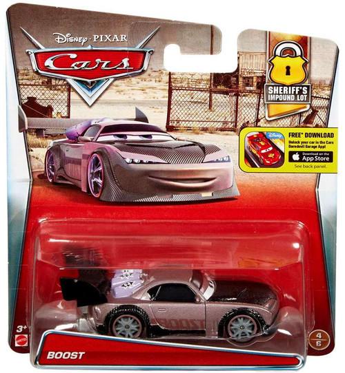 Mattel Disney / Pixar Cars Sheriff's Impound Lot Boost Di...