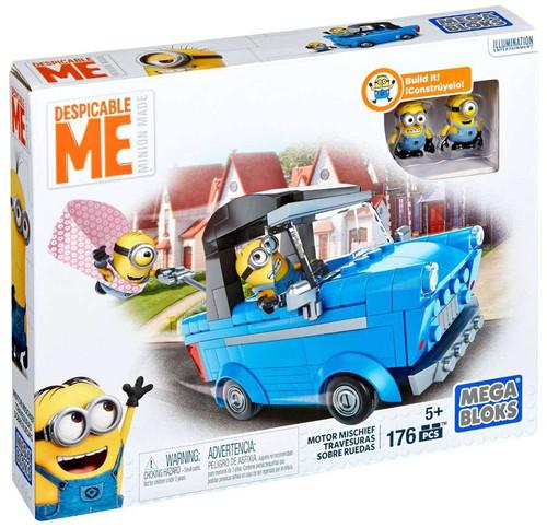 Mega Bloks Despicable Me Minion Made Motor Mischief Set ...