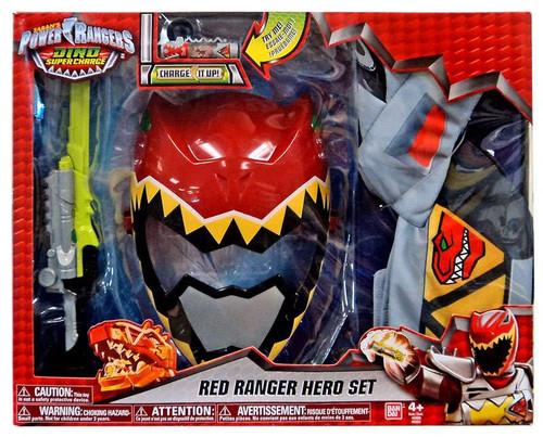 Power Rangers Dino Super Charge Red Ranger Hero Set