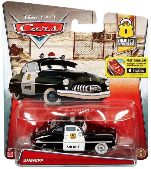 Disney / Pixar Cars Sheriff's Impound Lot Sheriff Diecast...