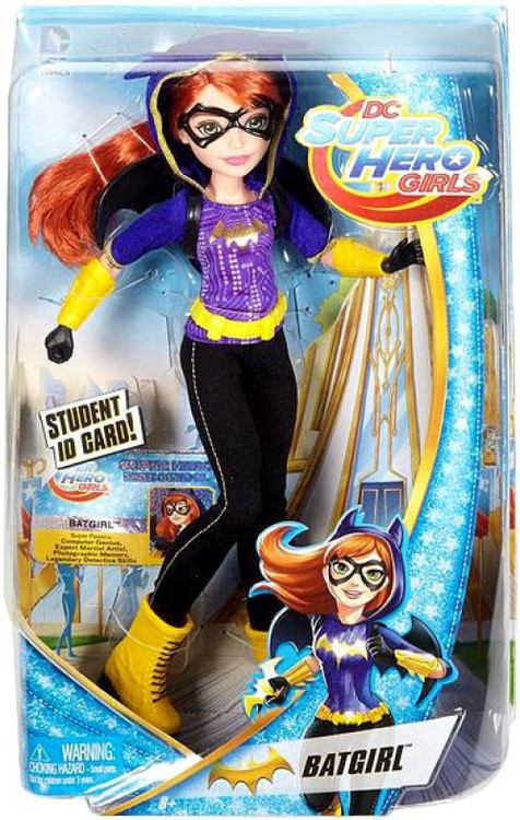 Dc Super Hero Girls Batgirl 12 Deluxe Doll Mattel Toys
