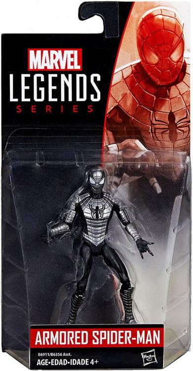 marvel marvel legends 2016 series 2 armored spider man action figure hasbro toys toywiz. Black Bedroom Furniture Sets. Home Design Ideas