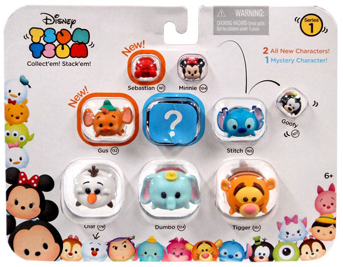 Disney Tsum Tsum Figure 9 Pack Baymax Perry Olaf Happy Pluto Pictures