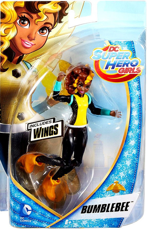 dc super hero girls bumblebee 6 action figure mattel toys