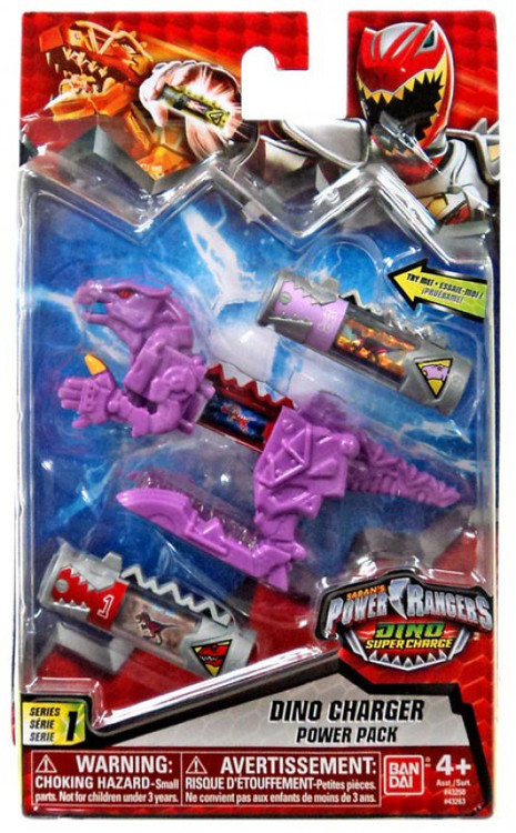 Bandai Power Rangers Dino Super Charge Purple Dino Charge...