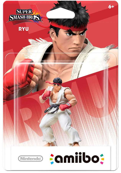 Nintendo Super Smash Bros Amiibo Ryu Mini Figure