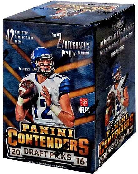 PANINI NFL Contenders 2016 Draft Picks Trading Card Blast...