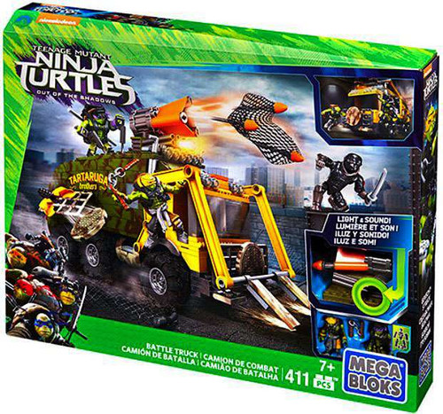 Mega Bloks Teenage Mutant Ninja Turtles Out of the Shadow...