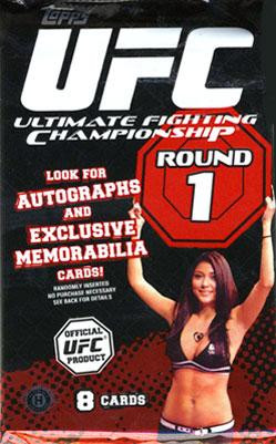 Topps UFC 2009 Round 1 Trading Card Pack